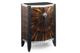 Incroyable Chevron Accent Cabinet